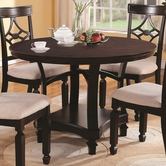 Coaster 103630 ROUND DINING TABLE