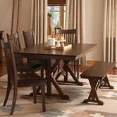 Coaster 103640-4X42 Rivera Casual Dining Set