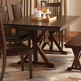 Coaster 103640 DINING TABLE (DARK MERLOT)