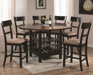 Coaster 103851-4X52 Cantrell Counter Height Table & Chair Set