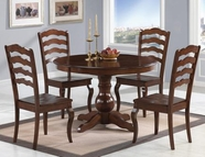 Coaster 103911-4X12 Davis 5 Piece Round Table Set