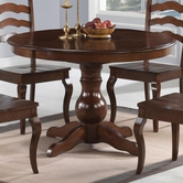 Coaster 103911 ROUND DINING TABLE (CAPPUCCINO)