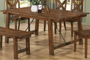 Coaster 103991 DINING TABLE (RUSTIC OAK)