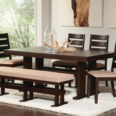 Coaster 104081 DINING TABLE (CAPPUCCINO)