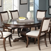 Coaster 104111 DINING TABLE (DEEP RICH CHERRY)