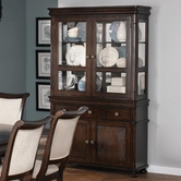 Coaster 104114 BUFFET/HUTCH (DEEP RICH CHERRY)