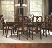 Coaster-104131-32-DINING-TABLECHERRY-Chair Dining Set