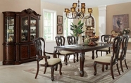Coaster 104141-4x42 Alexander Traditional Dining Table Set
