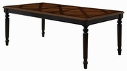 Coaster 104191 DINING TABLE (TOBACCO/BLACK)