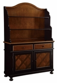 Coaster 104194 BUFFET/HUTCH (TOBACCO/BLACK)