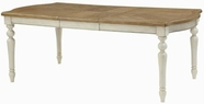 Coaster 104241 DINING TABLE (ANTIQUE WHITE/OAK)