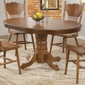 Coaster 104261 DINING TABLE (OAK)