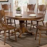 Coaster 104270 DINING TABLE (OAK)