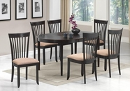 Coaster 104321-22 CAPPUCCINO OVAL-DINING-TABLE-Chair