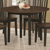 Coaster 104351 DINING TABLE (OAK/BLACK SAND)