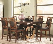 Coaster 104428-4X29 St John Counter Height Dining Table Set with Dining Chairs