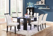Coaster 104561-4X63 Kenneth Set with LED Lit Dining Table