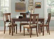 Coaster 104721-22 Cocoa-Brown Dining-Table-Chair Dining Set