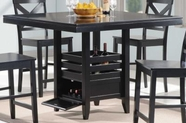 Coaster 104838 Counter Height Table (Black)