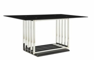 Coaster 105301 DINING TABLE (CHROME)