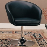 Coaster 120350 ACCENT CHAIR (BLACK)