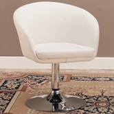 Coaster 120354 ACCENT CHAIR (WHITE)