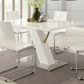 Coaster 120931 DINING TABLE (WHITE)
