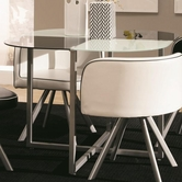 Coaster 120941 DINING TABLE (WHITE)