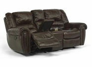 Flexsteel 1210-604/423-70 Crosstown Gliding Reclining Loveseat