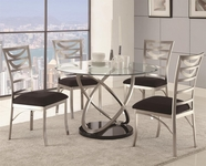 Coaster 121041-4X42 Tapia 5 Piece Dining Table and Chair Set