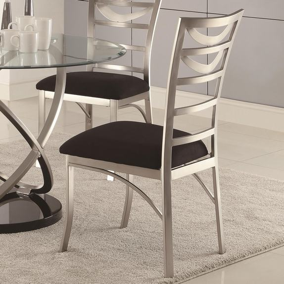 Bistro armless chairs set of 4 stonetm paver large patio aucourant co