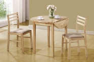 Coaster 130006 3 PC SET, NATURAL