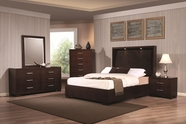 Coaster 200720Q QUEEN Bedroom Set (LIGHT CAPPUCCINO)
