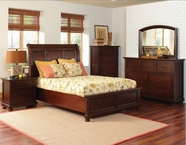 Coaster 200831-33-34 BEDROOM SET (BROWN CHERRY)