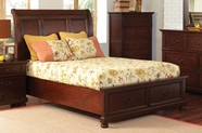 Coaster 200831Q QUEEN BED (BROWN CHERRY)