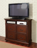 Coaster 200836 MEDIA CHEST (BROWN CHERRY)