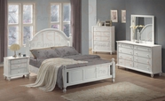 Coaster 201181Q-83-84 White Queen Bedroom SET