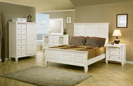 Coaster 201301Q-03-04 Bedroom Set