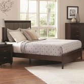 Coaster 202181KE E KING BED (LIGHT CAPPUCCINO)