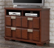 Coaster 202246 MEDIA CHEST (CHERRY)