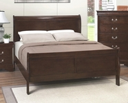 Coaster 202411Q QUEEN BED (CAPPUCCINO)