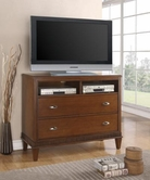 Coaster 202486 MEDIA CHEST (LIGHT CHERRY)