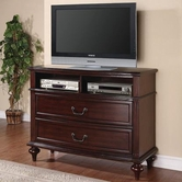 Coaster 202566 MEDIA CHEST (DEEP BROWN CHERRY)