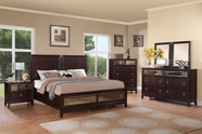 Coaster 203090Q-93-94 BEDROOM SET (MERLOT)