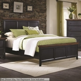 Coaster 203151F FULL BED (MEDIUM OAK/BLACK SAND)