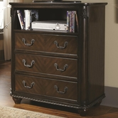 Coaster 203226 MEDIA CHEST (CHERRY)