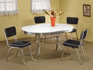 Coaster 2065 5Pc Cleveland Dining Set