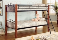Coaster 2248 TWIN / TWIN BUNK BED