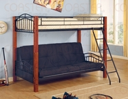 Coaster 2249 TWIN/FUTON BUNK BED