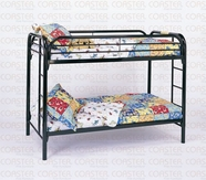 Coaster 2256K TWIN/TWIN BUNK BED, BLACK